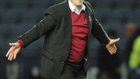 Billy Davies has been given his marching orders from Nottingham Forest