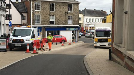 Residents have complained about loss of parking spaces. Picture: Lucy Begbie