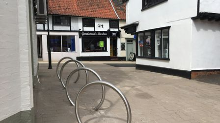 Complaints about loss of parking spaces on Market Hill which is regularly used by shoppers. Picture: