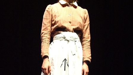 Elizabeth Crarer as Emily Wilding Davison in Emily: The Making of a Militant Suffragette which is pl