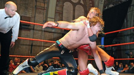 All Star Wrestling wowed fans on Friday night