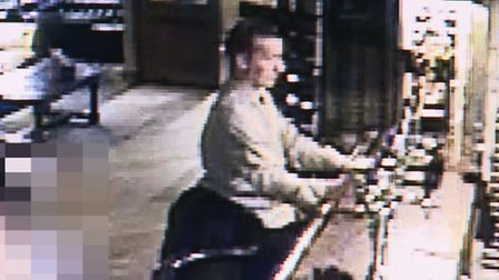 CCTV images of James Attfield which have been released by Essex Police.