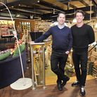 Marc Linch, director of the Food Company, with Aaron Linch, general manager.