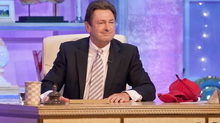 Alan in action on The Alan Titchmarsh show