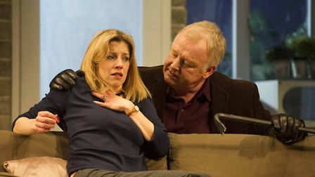 Les Dennis and Claire Goose in The Perfect Murder