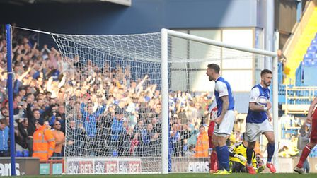 Ipswich Town striker Daryl Murphy celebrates after equalising in Saturday's 1-1 home draw with Notti