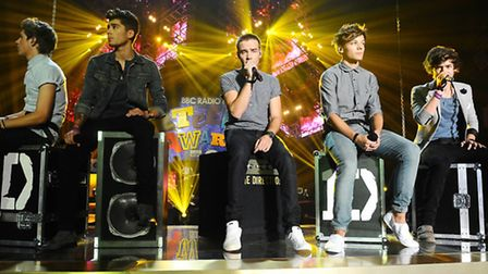 One Direction, who had a massive hit with Little Things