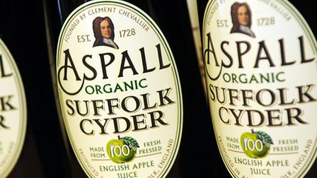 Barry Chevallier Guild, a partner in the family-owned business in Aspall, called on the Chancellor t