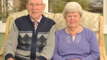 John and Betty Woollan of Trimley St Mary.