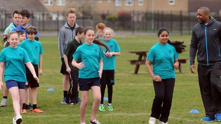 Former Olympic sprinter, Darren Campbell, was at Great Heath Primary School in Mildenhall.