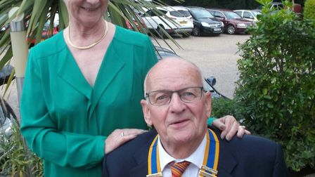 The incoming president of the Diss and District Rotary Club Clive Sinfield. Picture: David Hillier