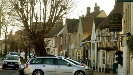 Retail outlets in Hall Street,Long Melford