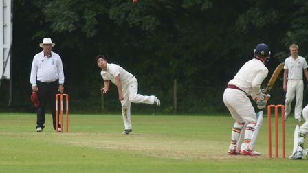 Action from Saturday's Norfolk Alliance Premier Division game between Old Buckenham and Fakenham, wh