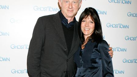Richard Curtis and Emma Freud at the Screening of Ghost Town