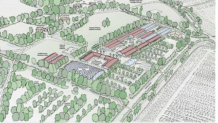 The proprosed plans Stour Valley Visitor Centre at Horkesley Park which were turned down
