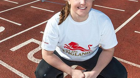 Olympic handball player Lousie Jukes, who has been selected to run a leg of the Queen's Baton Relay