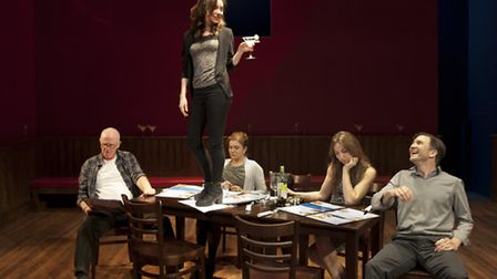 The Big Meal by Dan LeFranc which is being directed by Michael Boyd at the HighTide Festival in Hale