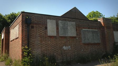 The Drill Hall in Framlingham was one of several sites proposed for a community hall.