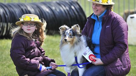 All About Dogs at Trinity Park, Ipswich Easter Bonnet competition judged tommy Walsh