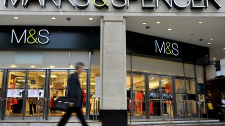 Marks & Spencer today reported better than expected sales figures.
