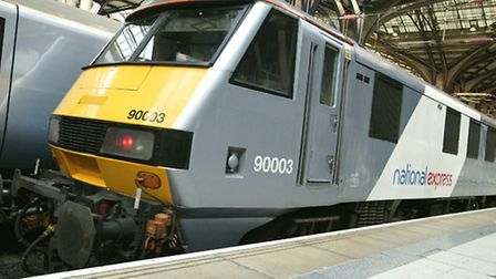 A man has been hit by a train at Witham