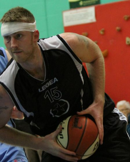 Leigh Greenan finished with his head bandaged after suffering an elbow to the face against Derby Tra