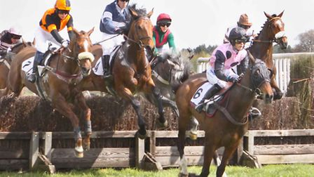 Higham Point to Point on Saturday - the first race of the day