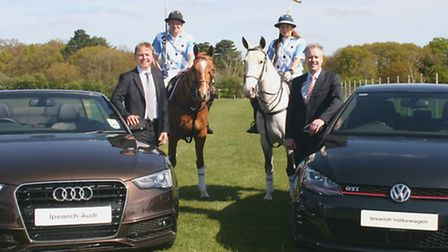 Hopkins International Polo at Trinity Park has signed a major sponsorship deal with Ipswich Audi and