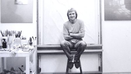 Photos of Guy Gladwell, an award winning Aldeburgh artist, who died recently.