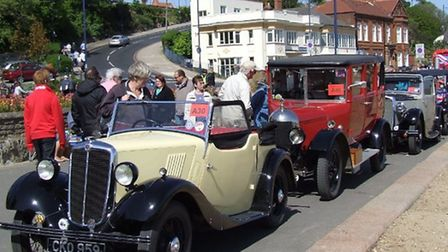 Some 20,000 people are expected to visit Felixstowe for the annual historic vehicle run.