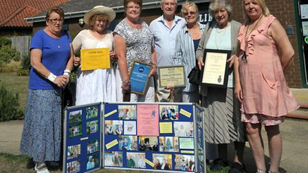 Wickham Market has been shortlisted for Suffolk Village of the Year.; The Wickham Market Family Car