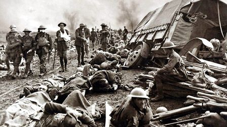 All but two of the Essex police officers killed in The Great War had been on the Western Front and m