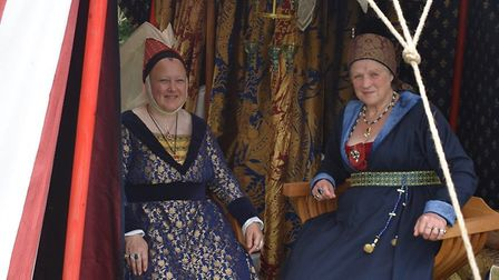 Hundreds enjoy a medieval weekend at bressingham church.picture Linda Holly