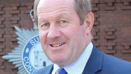 Suffolk Police and Crime Commissioner Tim Passmore