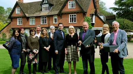 Members of board at Menta meet at the Ravenswood Hall Hotel near Bury St Edmunds.
