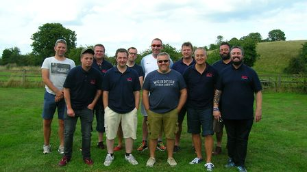 The Withersdale pub team. Picture: Submitted