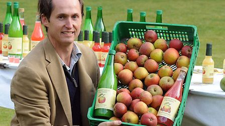 Clive Williamson of Maynard House Orchards.