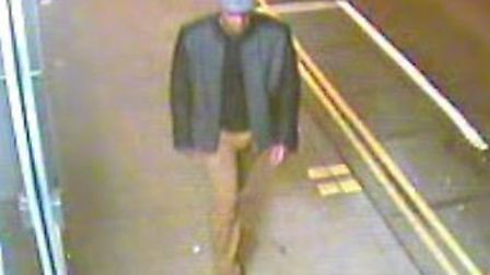 Police would like to speak to this man about a rape in Ipswich