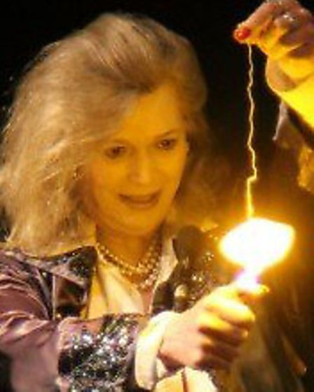 Fay Presto, one of the stars of Champions of Magic at Chelmsford's Civic Theatre tonight