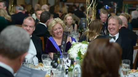Guests at the Charter Ball held to celebrate 150 years of Framlingham College
