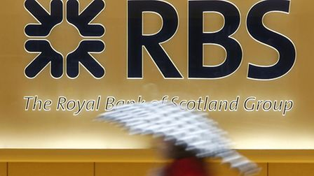Royal Bank of Scotland today reported improved profits for the first three months of 2014.