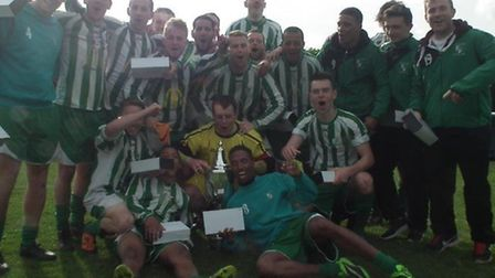 Whitton United Division One champions 2013/14