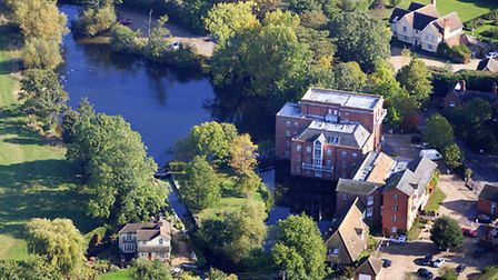 Dedham from the air. PICTURE COPYRIGHT MIKE PAGE