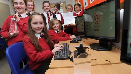 Pupils at St Christopher's School in Red Lodge have won a computer programming competition and are s
