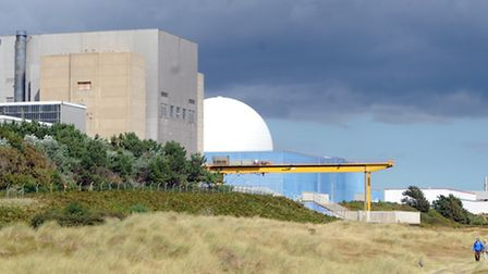 Sizewell Nuclear Power plant is part of the scenery in Sizewell Gap.