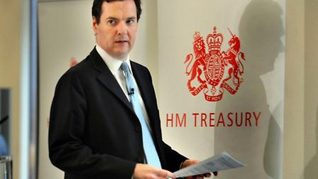 Chancellor George Osborne today welcomed figures showing that all three main sectors of the economy