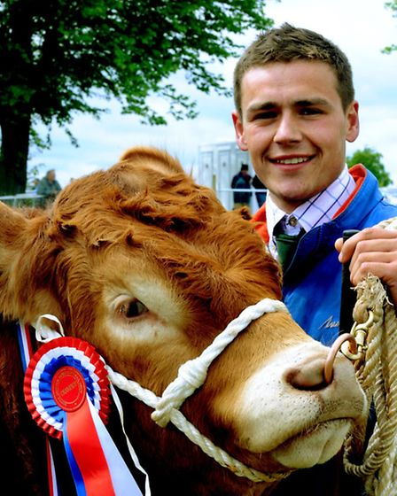 The 126th South Suffolk Show taking place on Sunday in wet, windy and indifferent conditions at the
