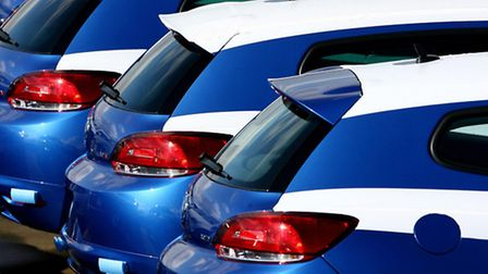 New car sales rose in April for the 26the month running prompting hopes they could end this year at