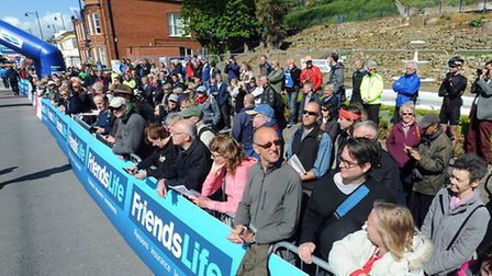 The Women's Tour cycle race sets off from Felixstowe.