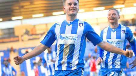 Luke Garbutt, who scored a cracking equaliser at Preston, one of three goals he netted on loan from